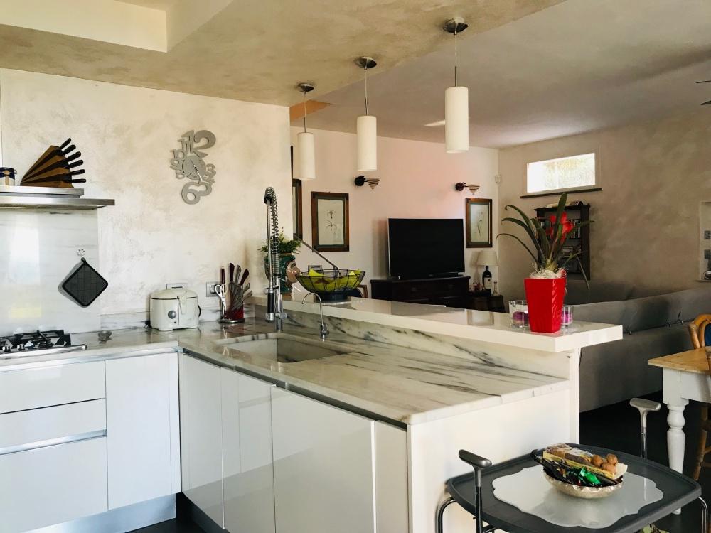 Villa con vista mare Montenero Alto in vendita Livorno