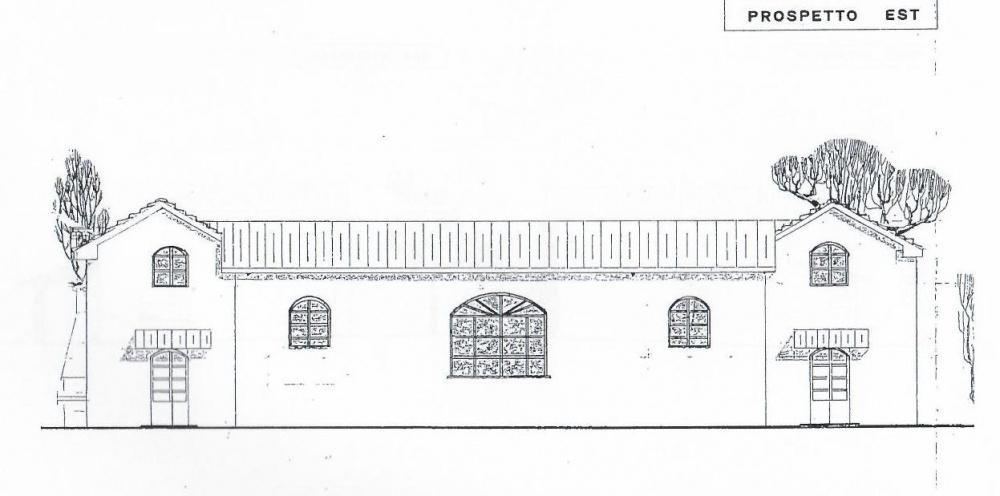 prospetto Villa libera su quattro lati con Parco Privato e vista Mare in vendita a Valle Benedetta
